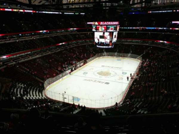 United Center, section: 324, row: 10, seat: 11