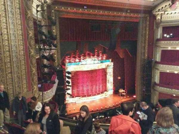 CIBC Theatre, section: mezzanine l, row: g, seat: 15