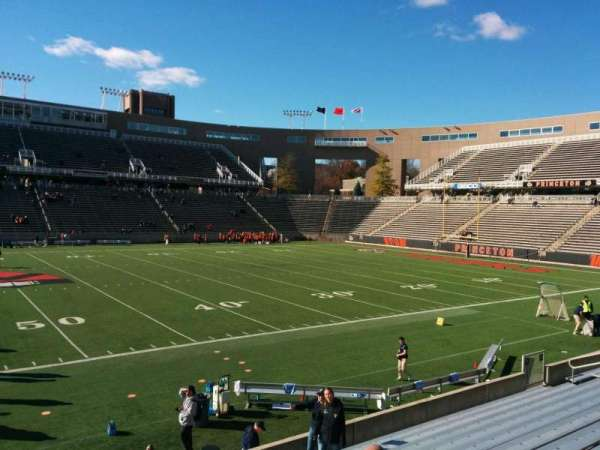 Princeton Stadium, section: 27, row: 12, seat: 12