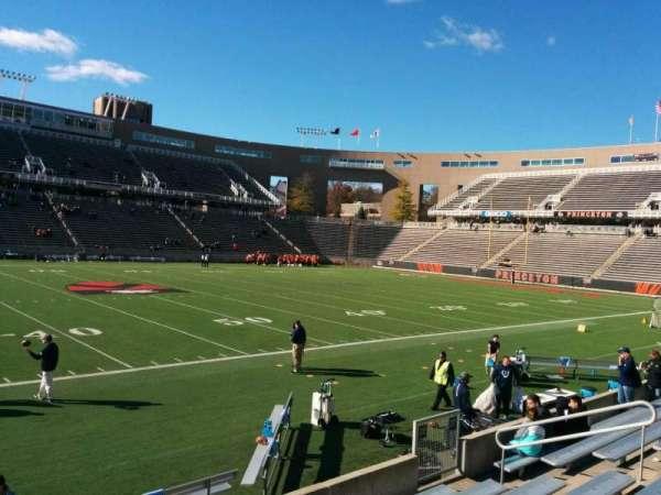 Princeton Stadium, section: 28, row: 8, seat: 16