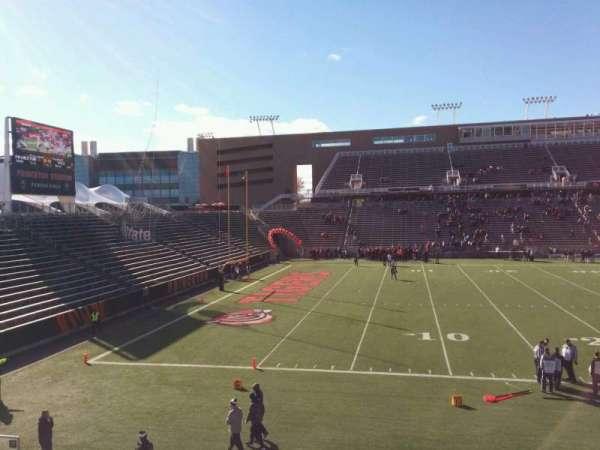 Princeton Stadium, section: 30, row: 16, seat: 19