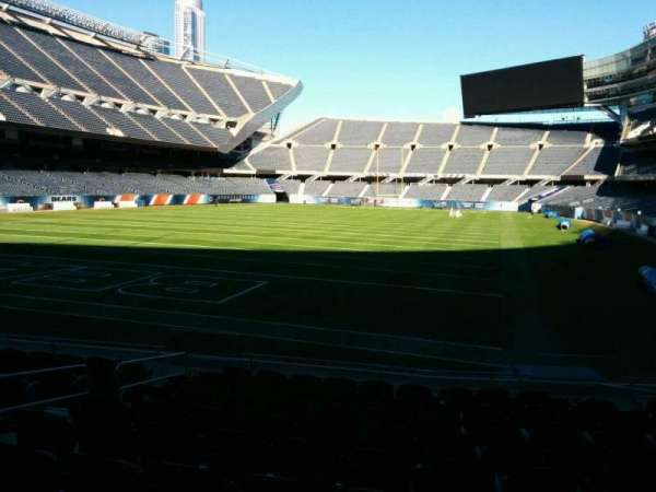 Soldier Field, section: 120, row: 11, seat: 7
