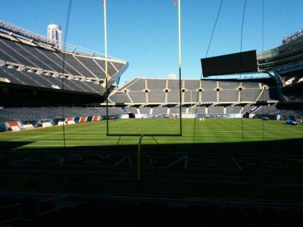 Soldier Field, section: 122, row: 11, seat: 7