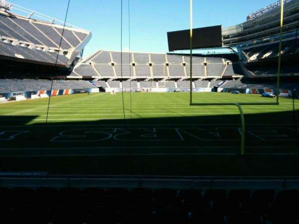 Soldier Field, section: 123, row: 8, seat: 9