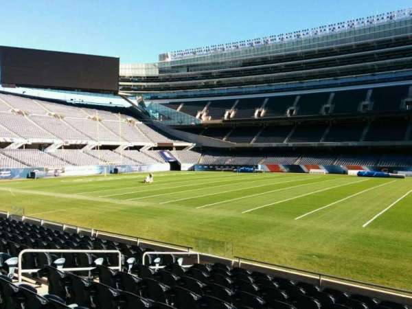 Soldier Field, section: 136, row: 10, seat: 10