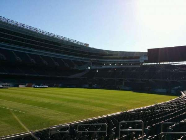 Soldier Field, section: 143, row: 12, seat: 8