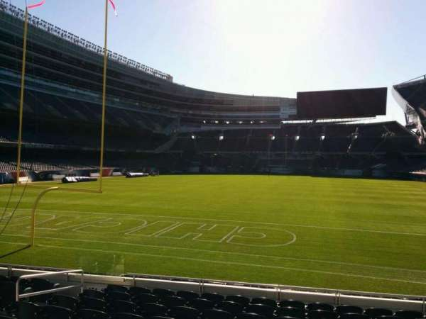 Soldier Field, section: 150, row: 10, seat: 8