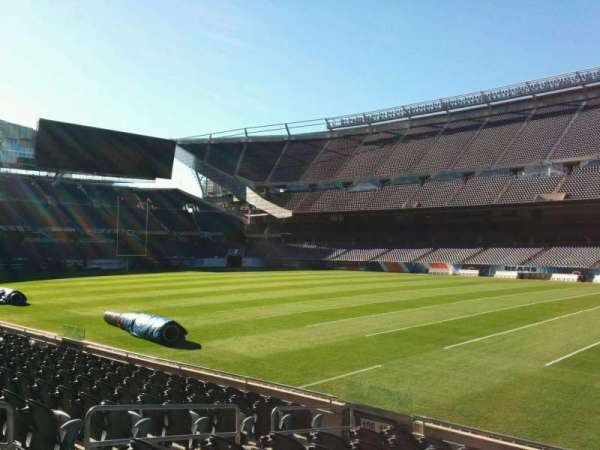 Soldier Field, section: 105, row: 10, seat: 8
