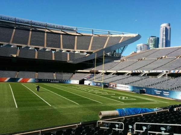 Soldier Field, section: 106, row: 10, seat: 8