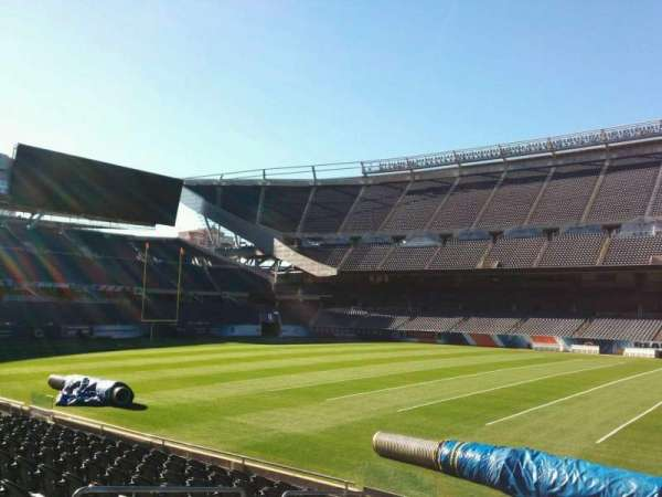 Soldier Field, section: 107, row: 10, seat: 10