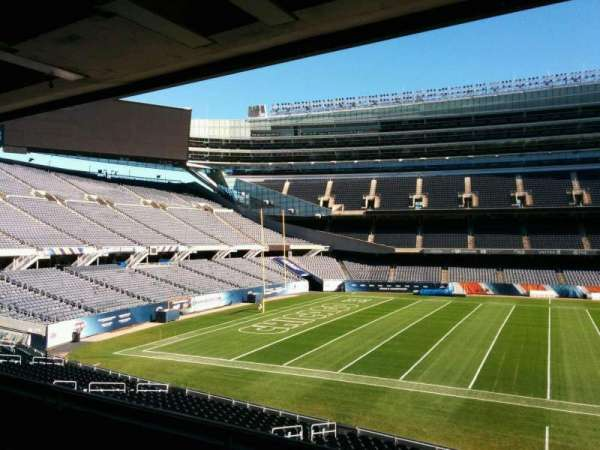 Soldier Field, section: 240, row: 4, seat: 9