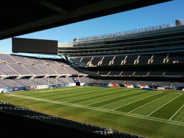 Soldier Field, section: 234, row: 4, seat: 9