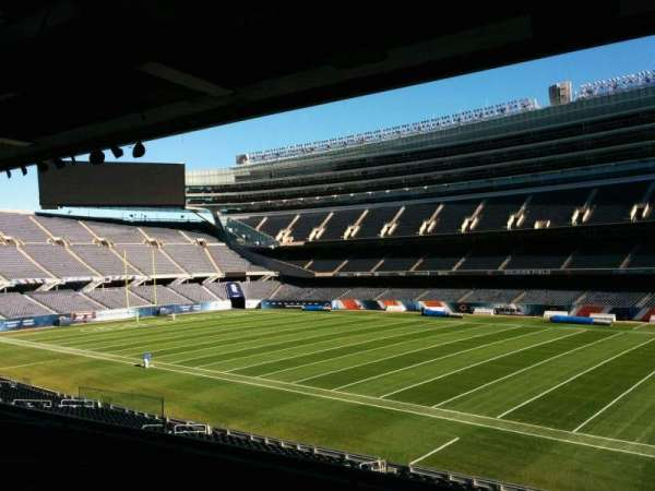 Soldier Field, section: 232, row: 5, seat: 9