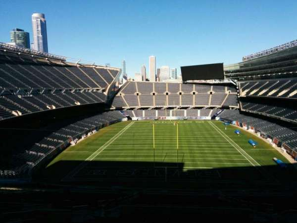 Soldier Field, section: 322, row: 1, seat: 11