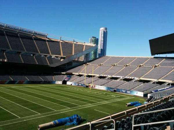 Soldier Field, section: 210, row: 6, seat: 10