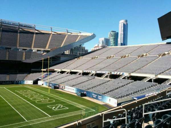 Soldier Field, section: 206, row: 6, seat: 9