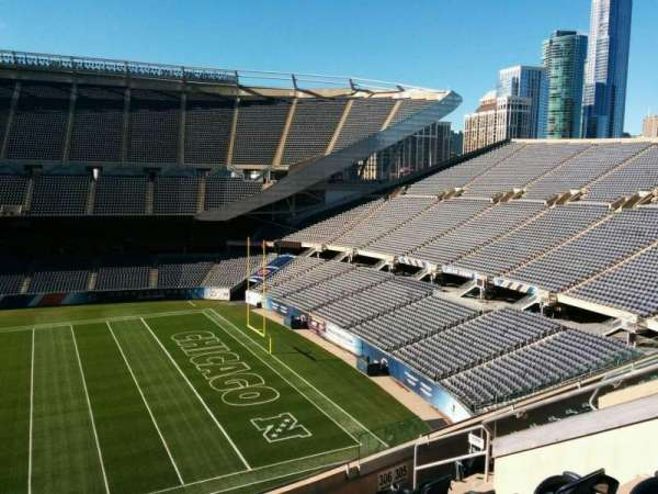 Soldier Field, section: 306, row: 8, seat: 8