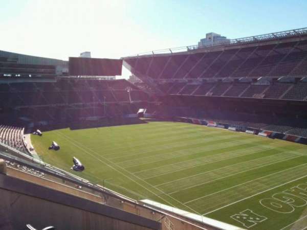 Soldier Field, section: 302, row: 9, seat: 8