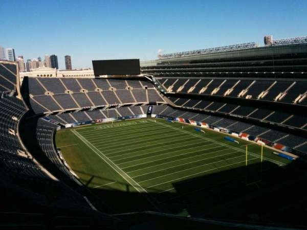 Soldier Field, section: 428, row: 22, seat: 11