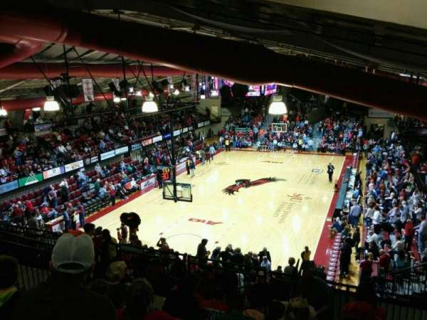 Hagan Arena, section: 207, row: 11, seat: 3