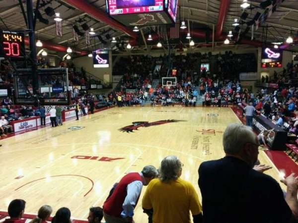 Hagan Arena, section: 107, row: 8, seat: 8
