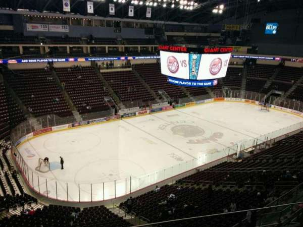 Giant Center, section: 204, row: e, seat: 13