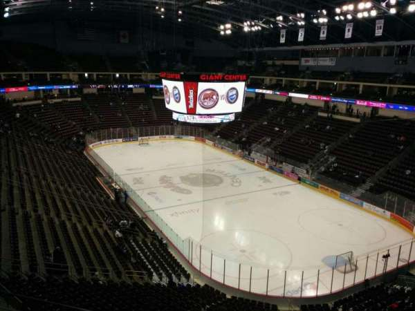 Giant Center, section: 211, row: d, seat: 6