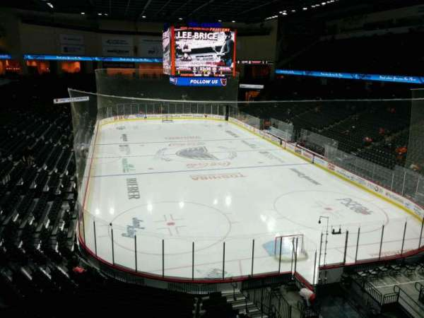 PPL Center, section: 211, row: 2, seat: 4