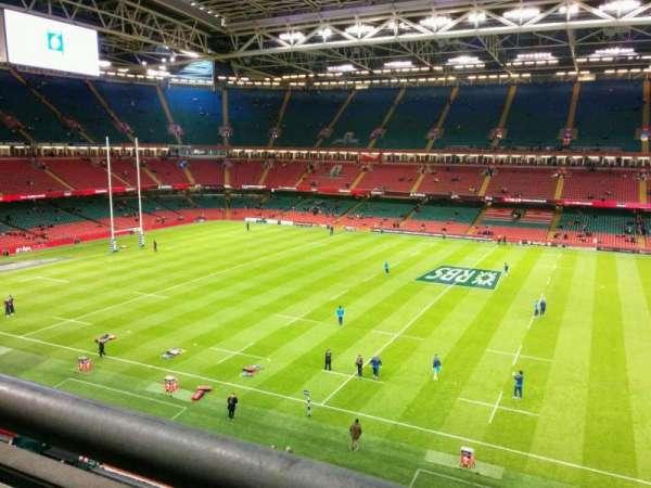 Principality Stadium, section: U8, row: 1, seat: 15