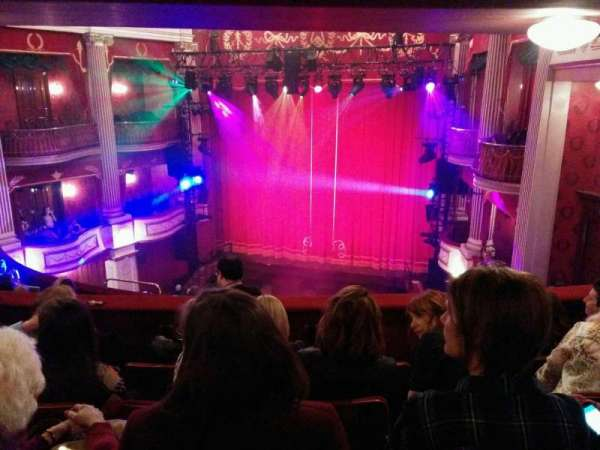 New Theatre (Cardiff), section: circle, row: l, seat: 27