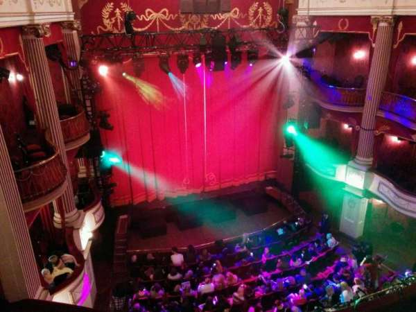 New Theatre (Cardiff), section: Upper Circle, row: a, seat:  7