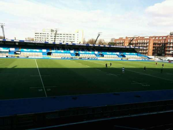 Cardiff Arms Park, section: 5, row: h, seat: 6
