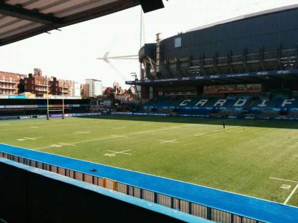 Cardiff Arms Park, section: 11, row: c, seat: 39