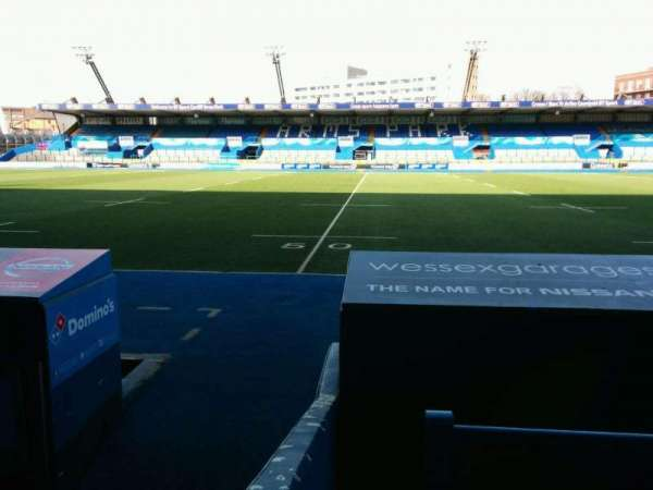 Cardiff Arms Park, section: Standing 3, row: GA