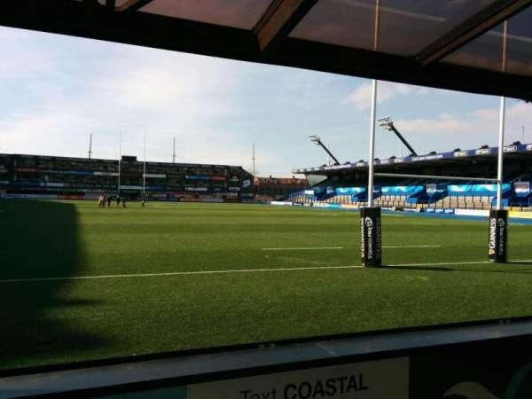 Cardiff Arms Park, section: 18, row: c, seat: 16