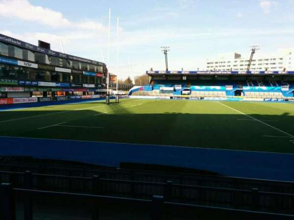 Cardiff Arms Park, section: Standing 5, row: top, seat: ga