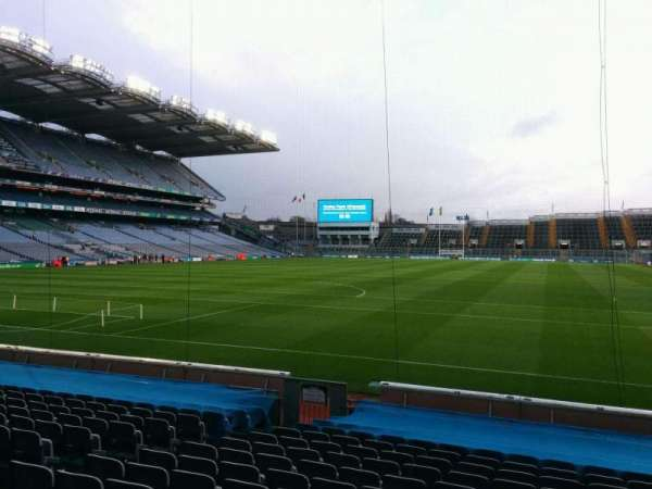 Croke Park, section: 316, row: p, seat: 6