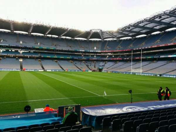 Croke Park, section: 330, row: n, seat: 20