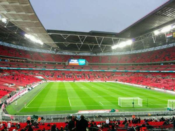 Wembley Stadium, section: 135, row: 42, seat: 50