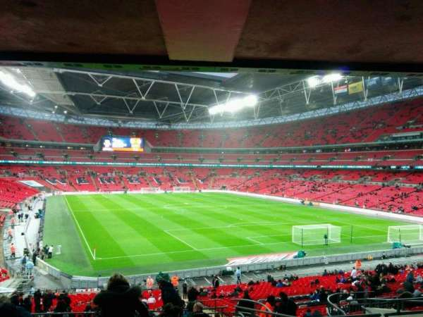 Wembley Stadium, section: 136, row: 43, seat: 81