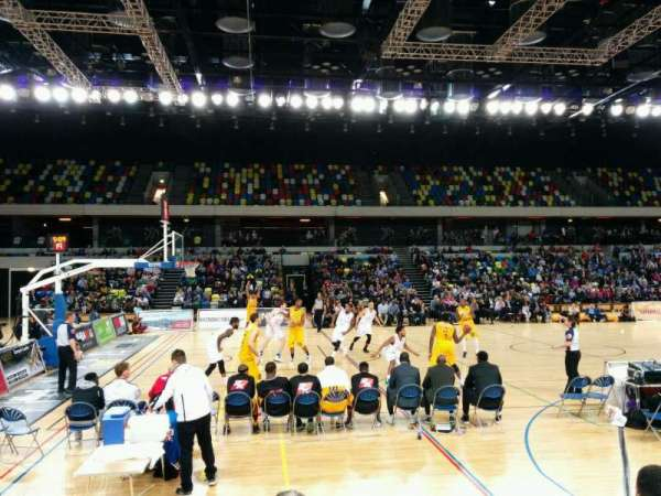 Copper Box Arena, section: 105, row: 5, seat: 100