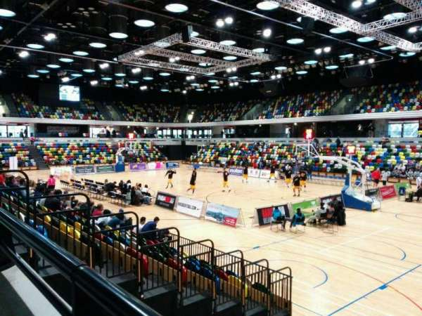 Copper Box Arena, section: 110, row: 9, seat: 22