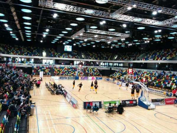 Copper Box Arena, section: 108, row: 10, seat: 84