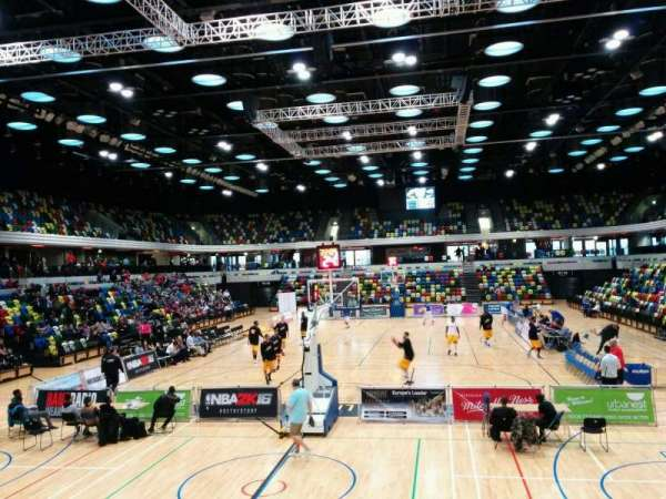 Copper Box Arena, section: 107, row: 9, seat: 48