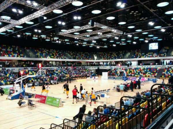 Copper Box Arena, section: 105, row: 9, seat: 133