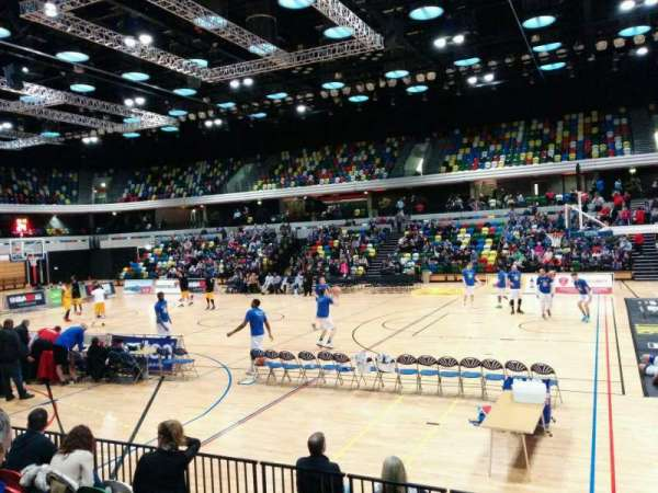 Copper Box Arena, section: 103, row: 7, seat: 52