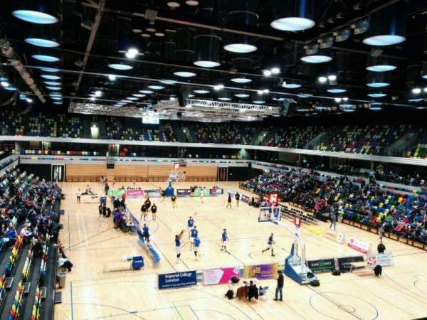 Copper Box Arena, section: 201, row: 13, seat: 84