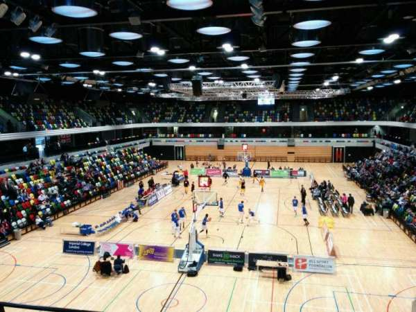 Copper Box Arena, section: 214, row: 14, seat: 44