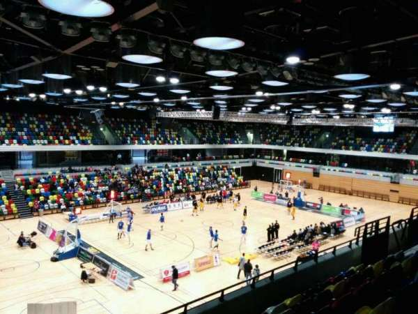 Copper Box Arena, section: 212, row: 16, seat: 136