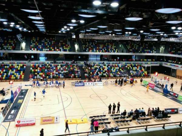Copper Box Arena, section: 211, row: 17, seat: 99